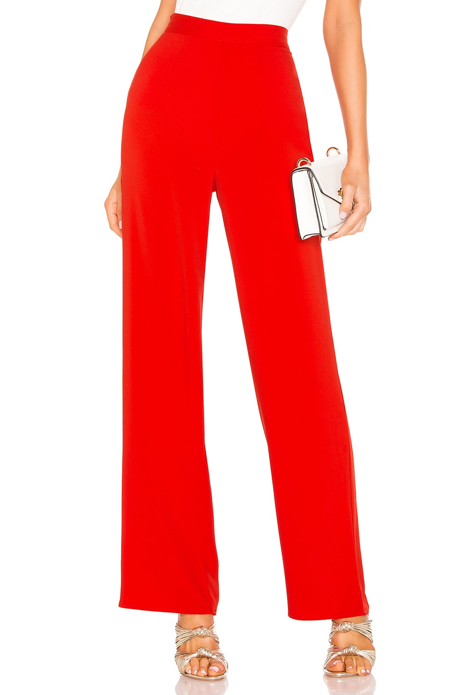 NBD x Naven Cara Pants in Flame Scarlet