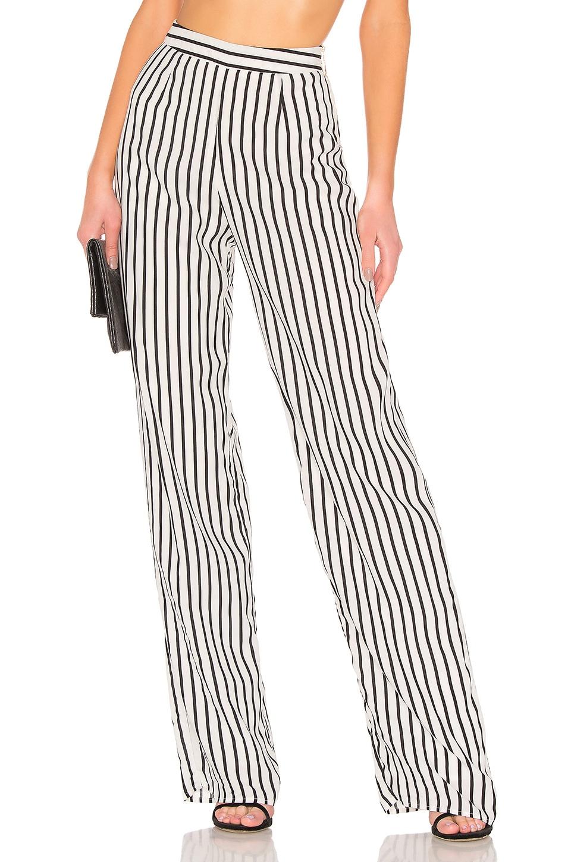 NBD x Naven Cara Pants in Black White Stripe