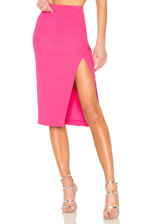 NBD Sydni Skirt in Fuchsia
