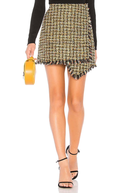 NBD Orion Mini Skirt in Yellow