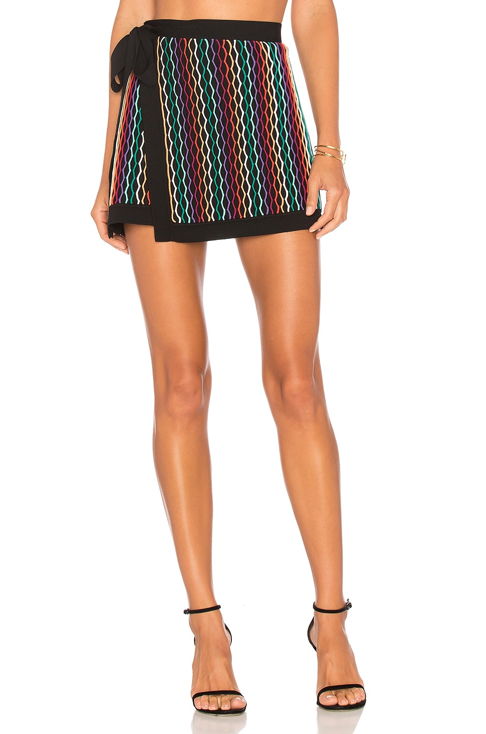 NBD x REVOLVE Benton Skirt in Rainbow