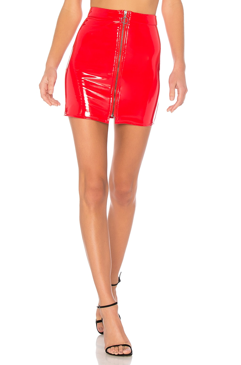 NBD Vanna Skirt in Red