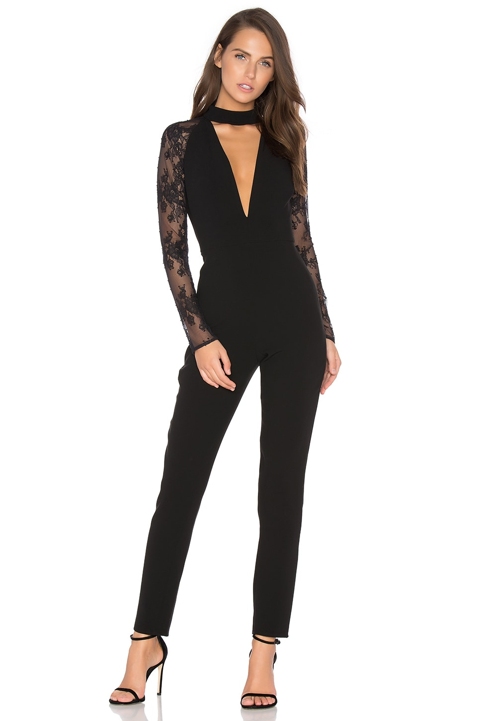 NBD x REVOLVE Don't Need Nobody Jumpsuit in Black