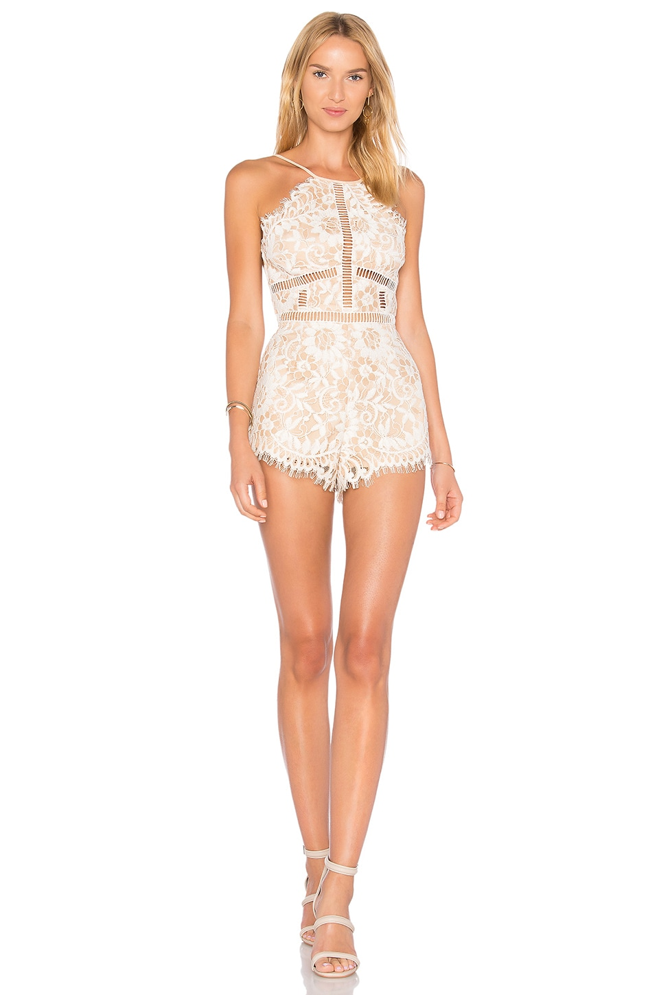 Alijah Romper in Cream. - size L (also in M,S,XL,XS) NBD