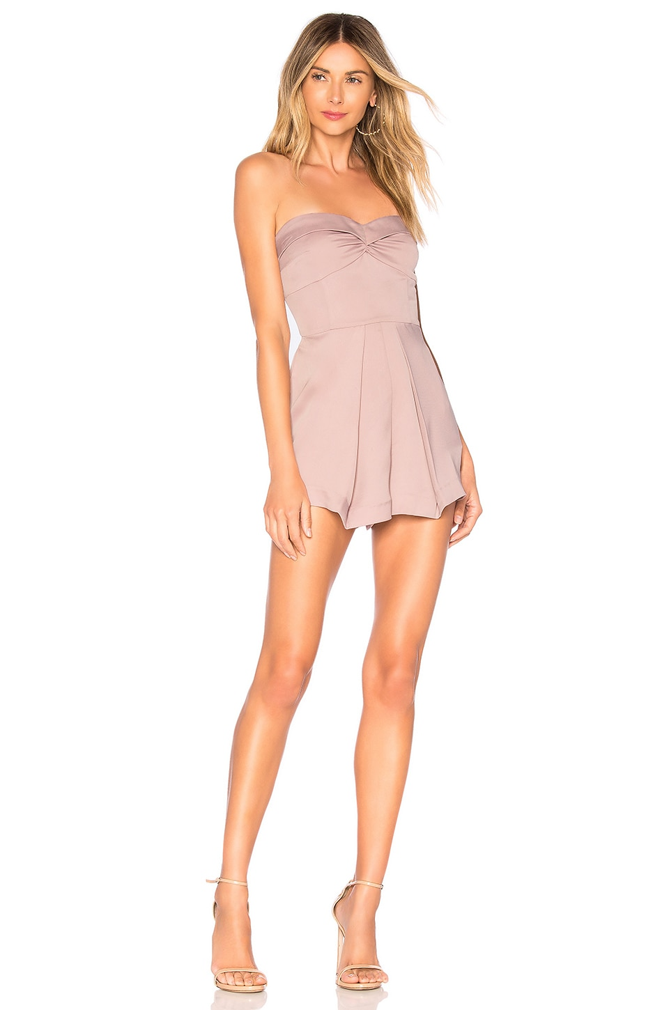 NBD Logan Romper in Mauve