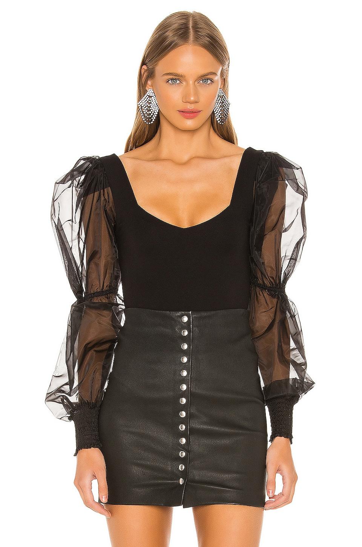 NBD Blaine Bodysuit in Black