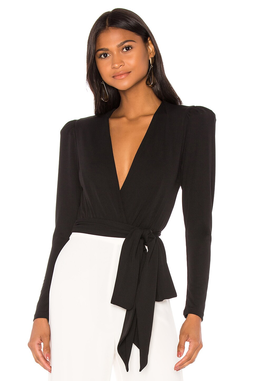 NBD Noreen Bodysuit in Black