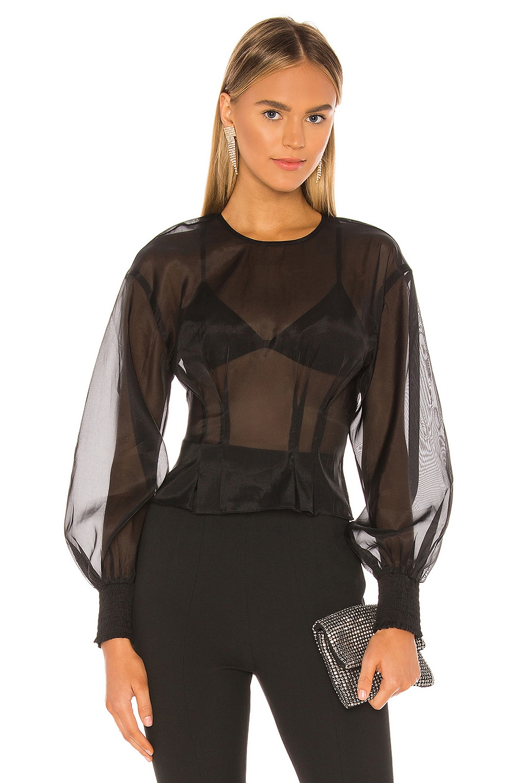 NBD Lizeth Blouse in Black