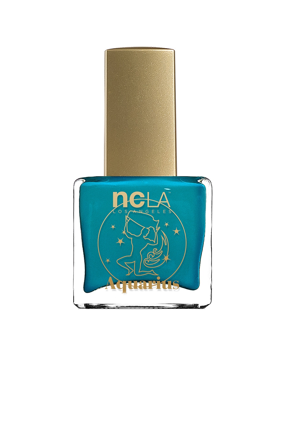 NCLA What's Your Sign? Aquarius Lacquer in Turquoise Cream