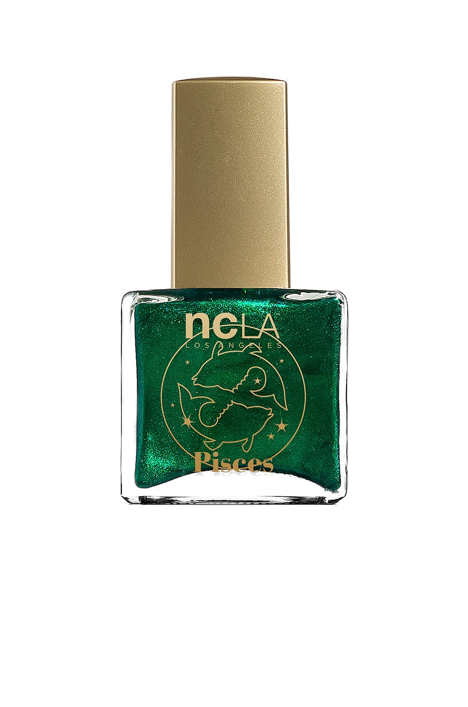 NCLA What's Your Sign? Pisces Lacquer in Bright Metallic Green