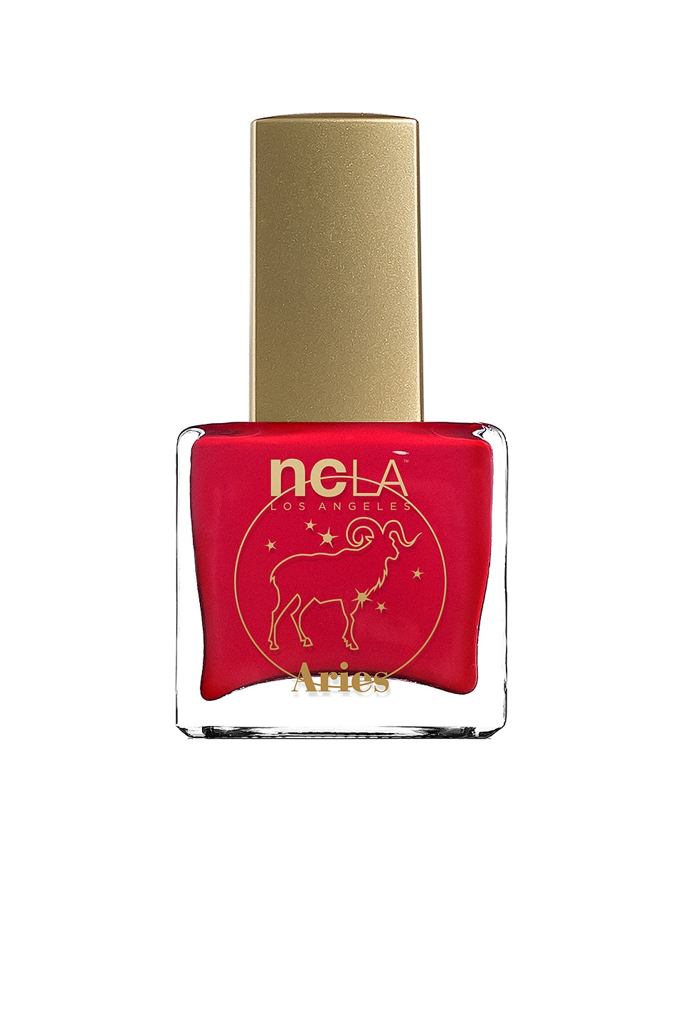 NCLA What's Your Sign? Aries Lacquer in Red Cream