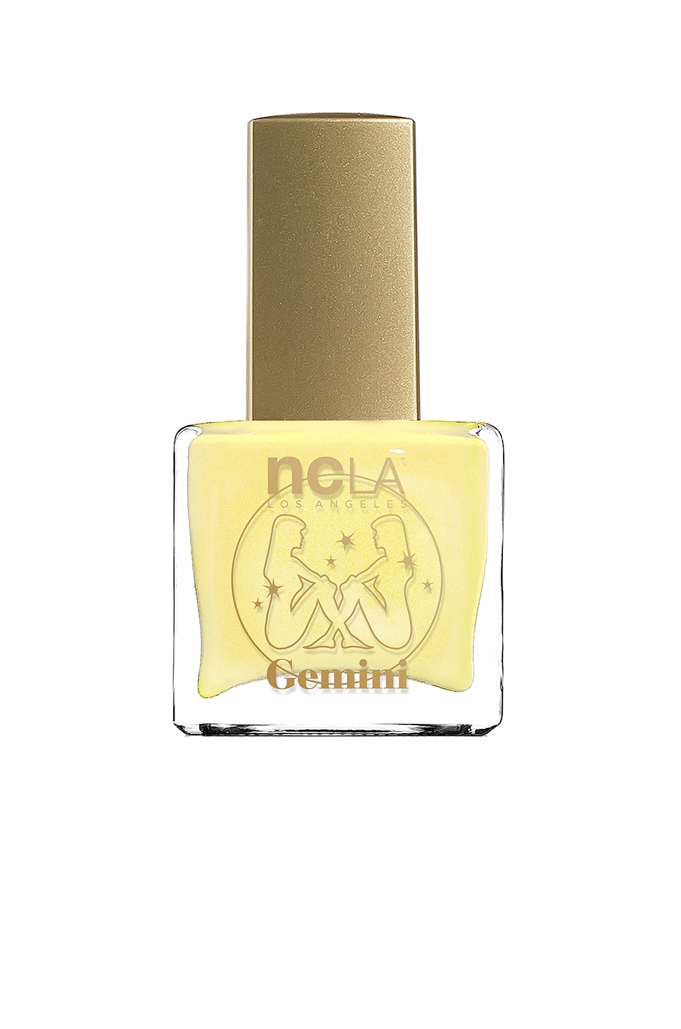 NCLA What's Your Sign? Gemini Lacquer in Yellow Cream