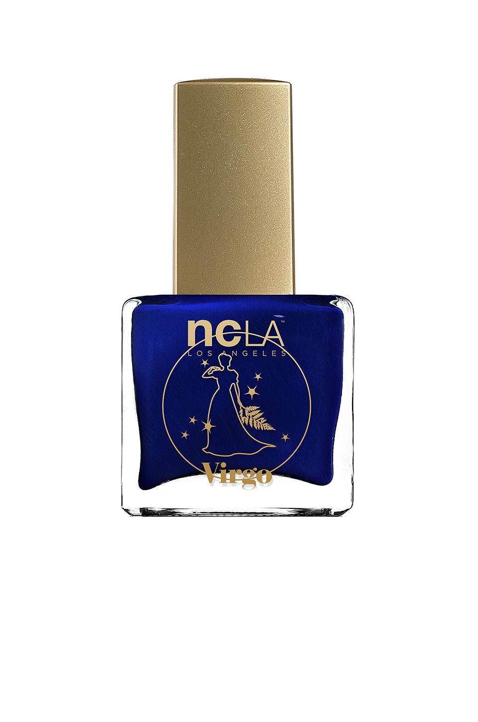 NCLA What's Your Sign? Virgo Lacquer in Dark Metallic Blue