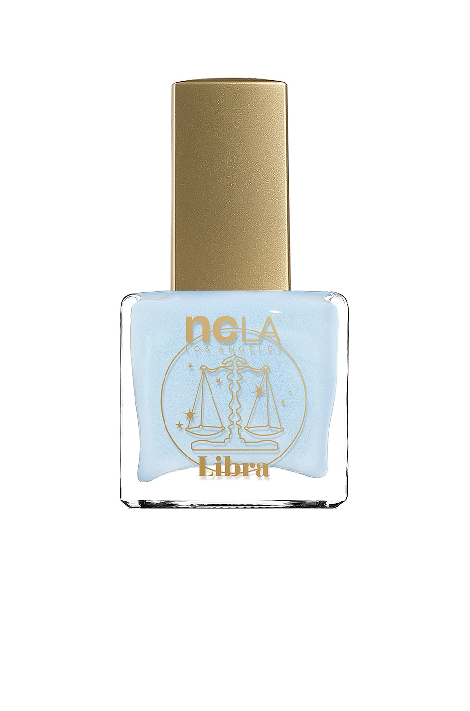 NCLA What's Your Sign? Libra Lacquer in Baby Blue Cream