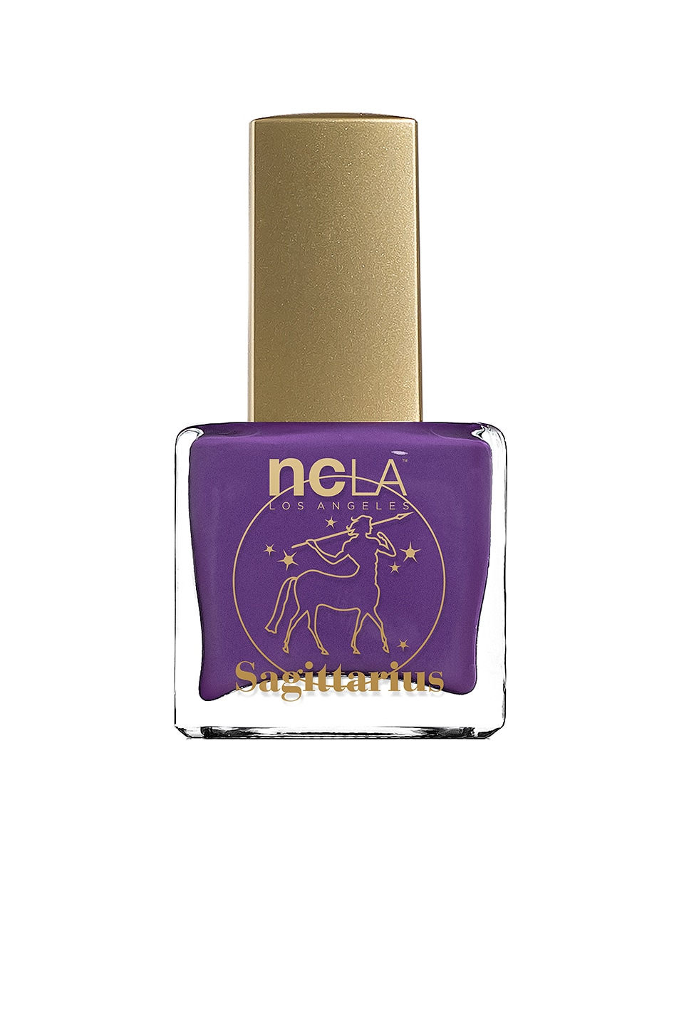 NCLA What's Your Sign? Sagittarius Lacquer in Purple Cream