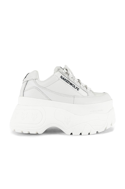 Naked Wolfe Sprinter Sneaker in White