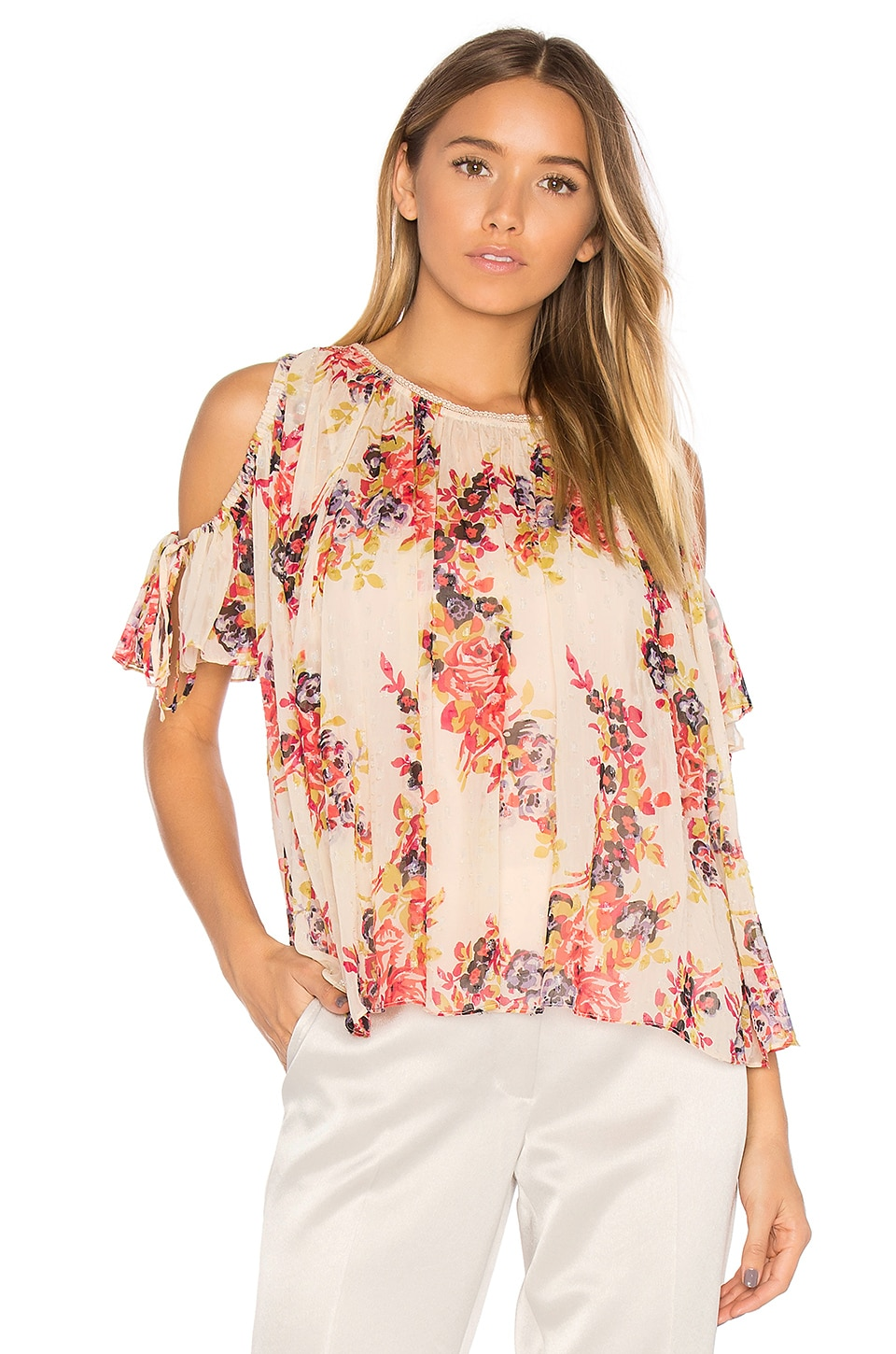 Prairie Rose Top by Needle & Thread