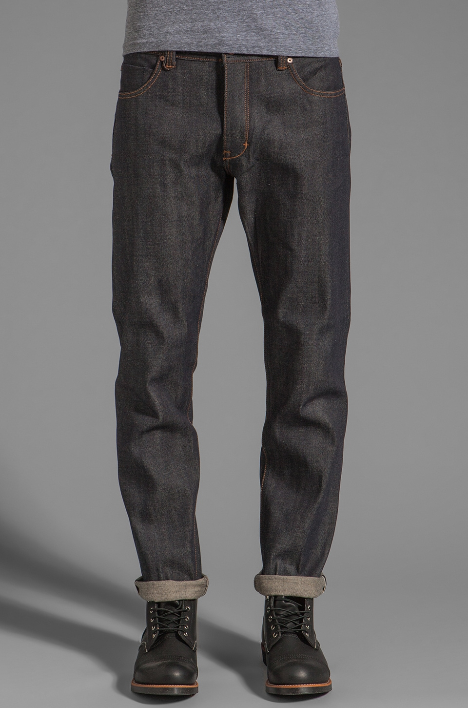 NEUW Johnny Tapered Jeans in Raw Selvedge