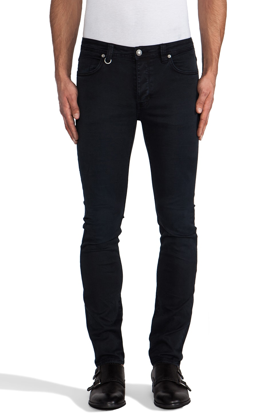 NEUW Iggy Skinny in Worn Black