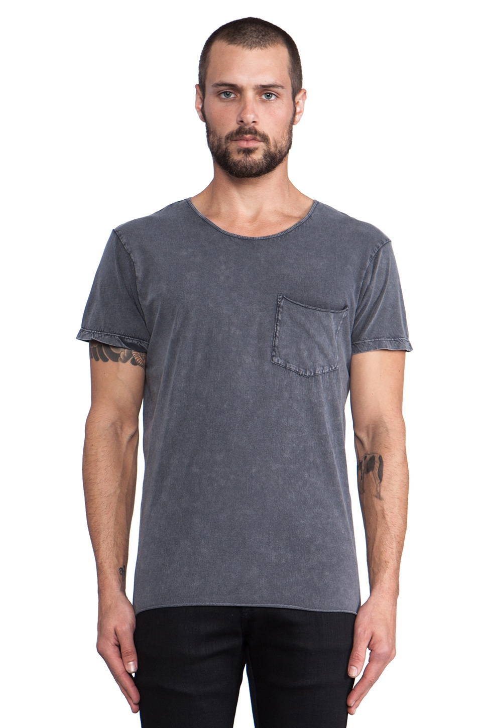 NEUW Enkel Tee in Pigment Grey