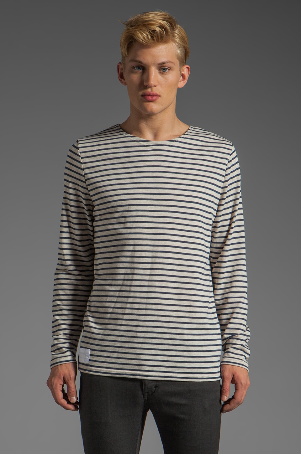 NEUW Sailor List Tee in Indigo