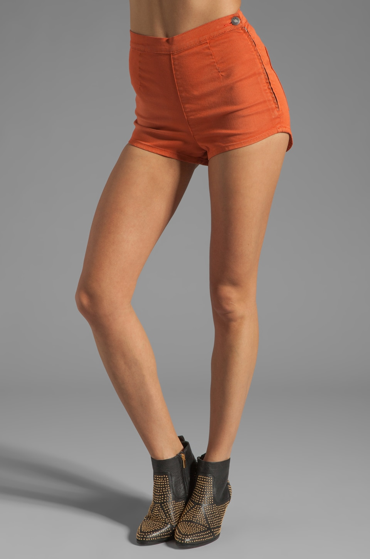 NEUW Daisy Short in Tangerine