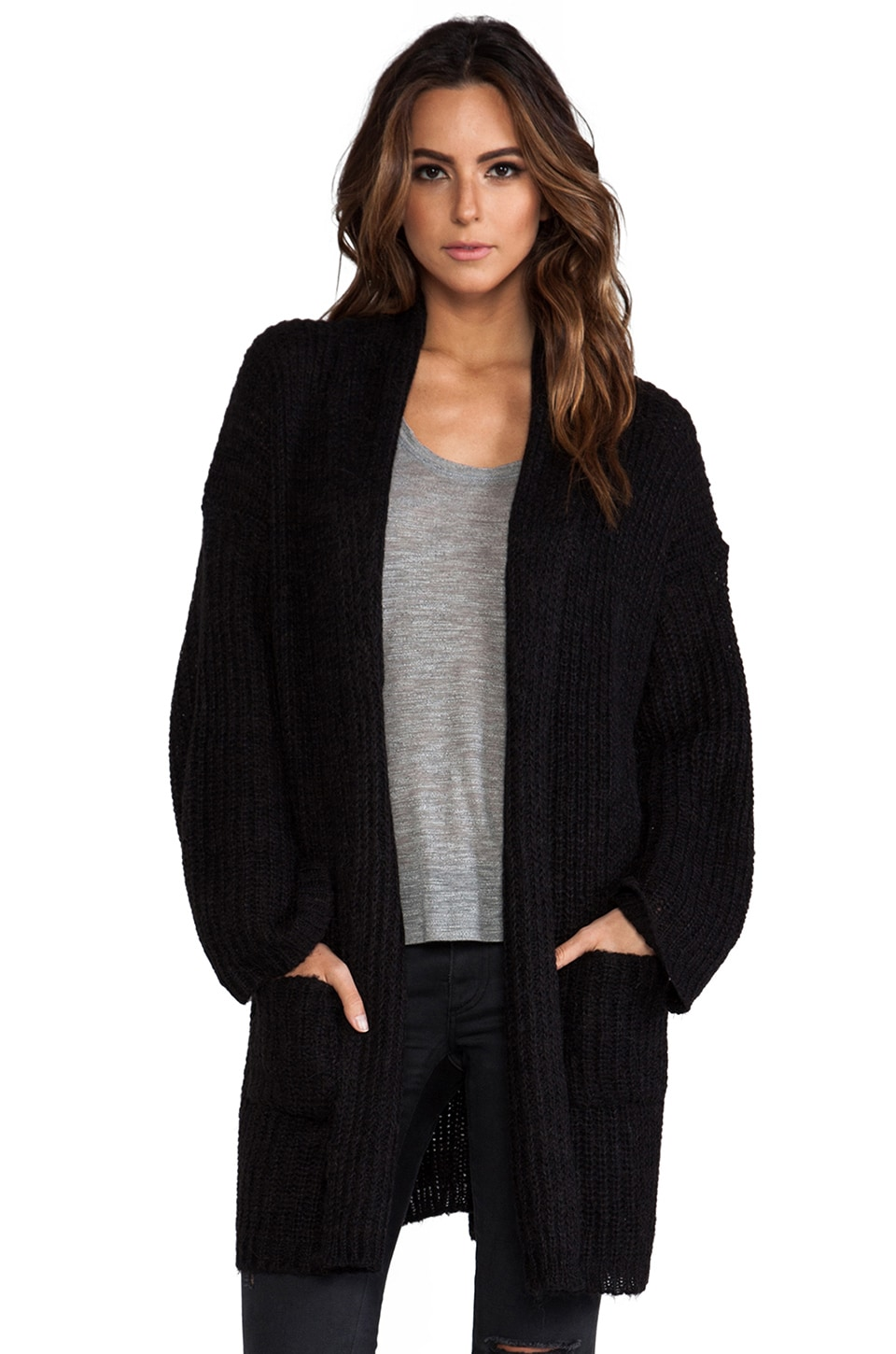 NEUW Odetie Cardigan in Black