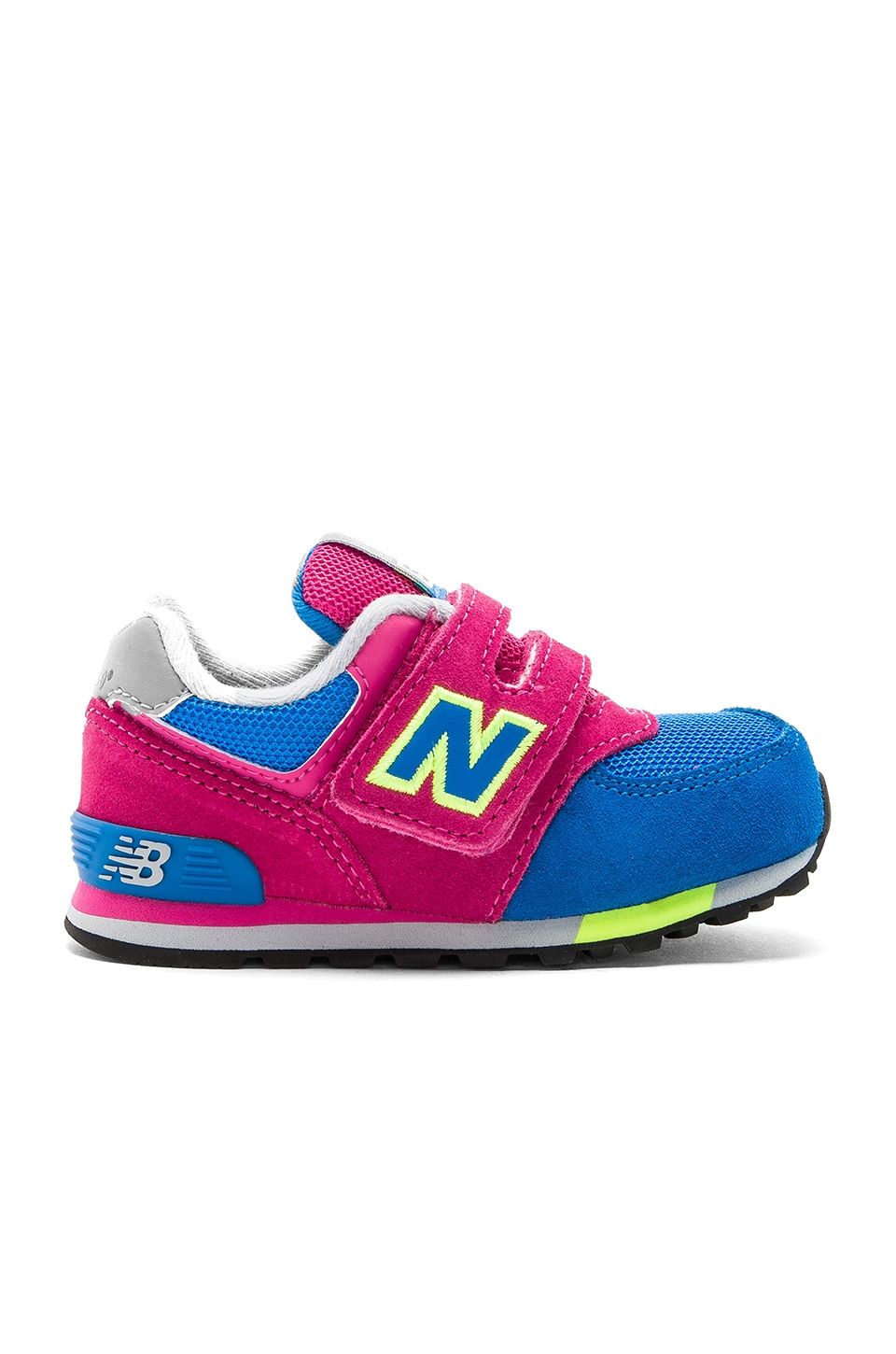 New Balance Cut & Paste Sneaker in Pink & Blue