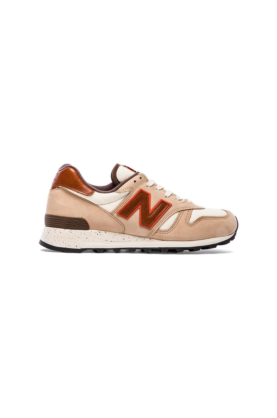 New Balance Made in USA M1300 in Tan & Brown