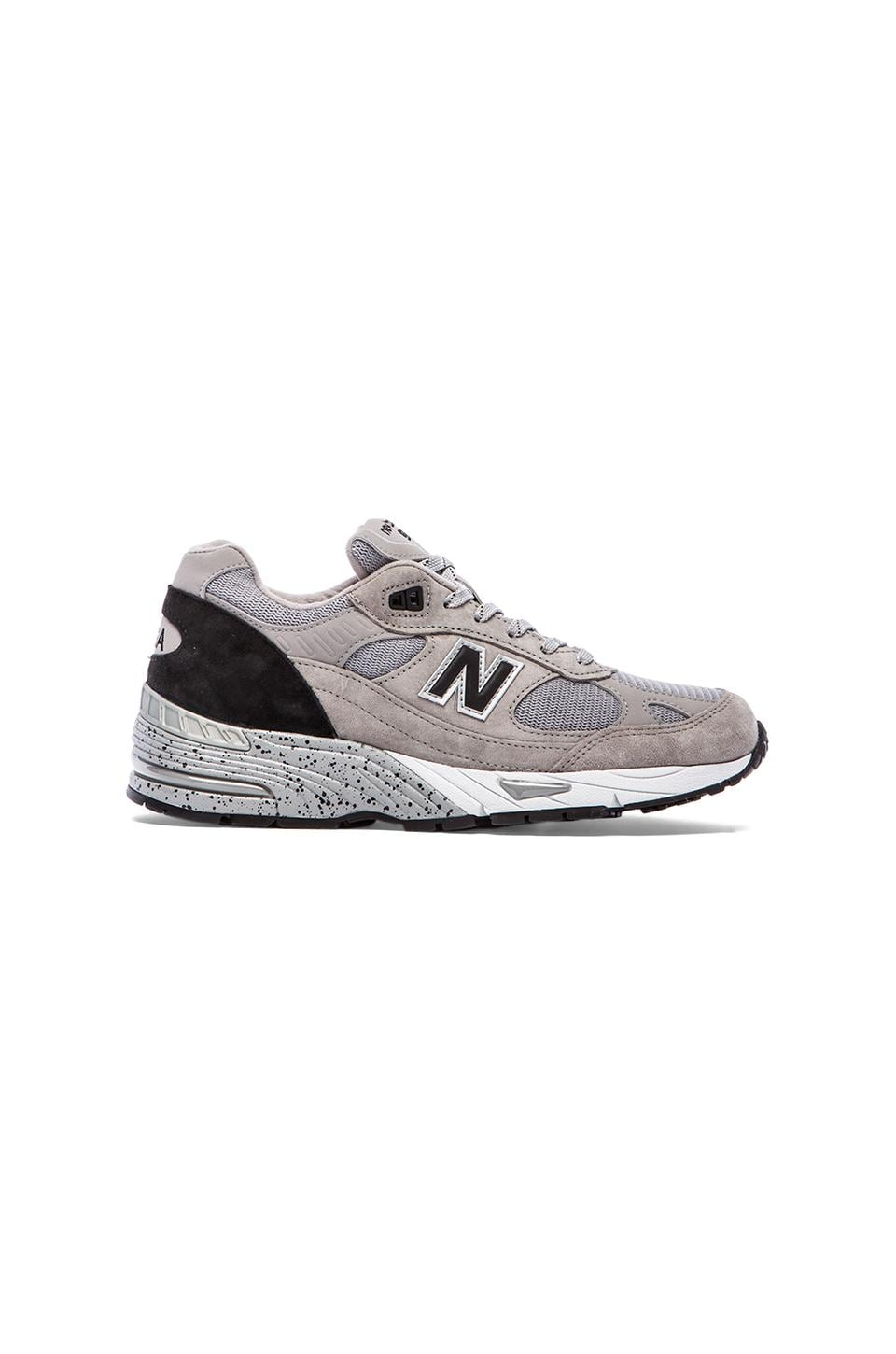 New Balance Made in USA M991 in Grey & Black