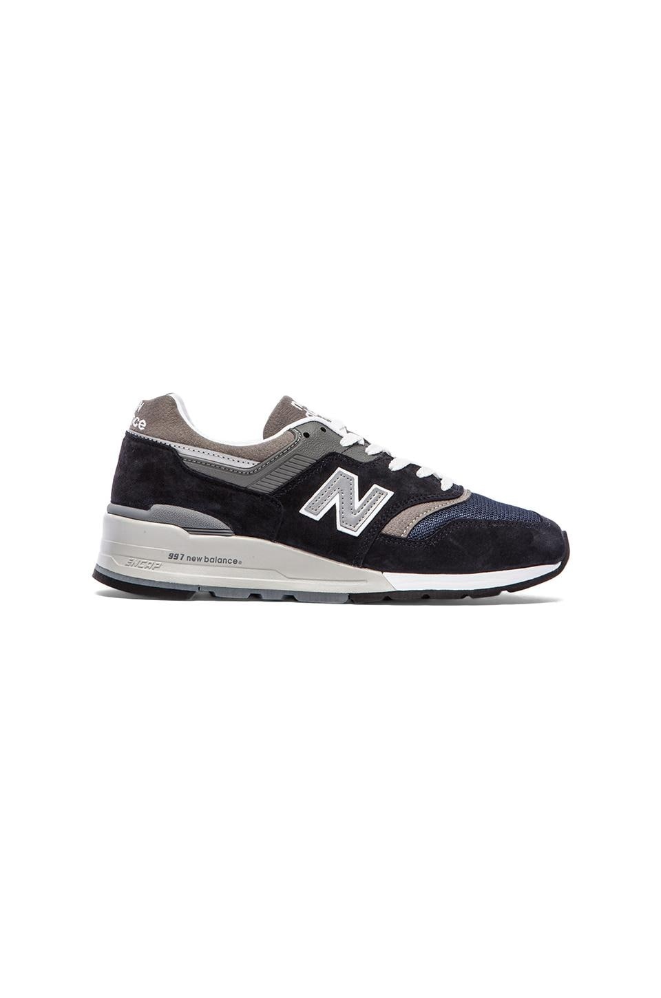 New Balance Made in USA M997 in Navy