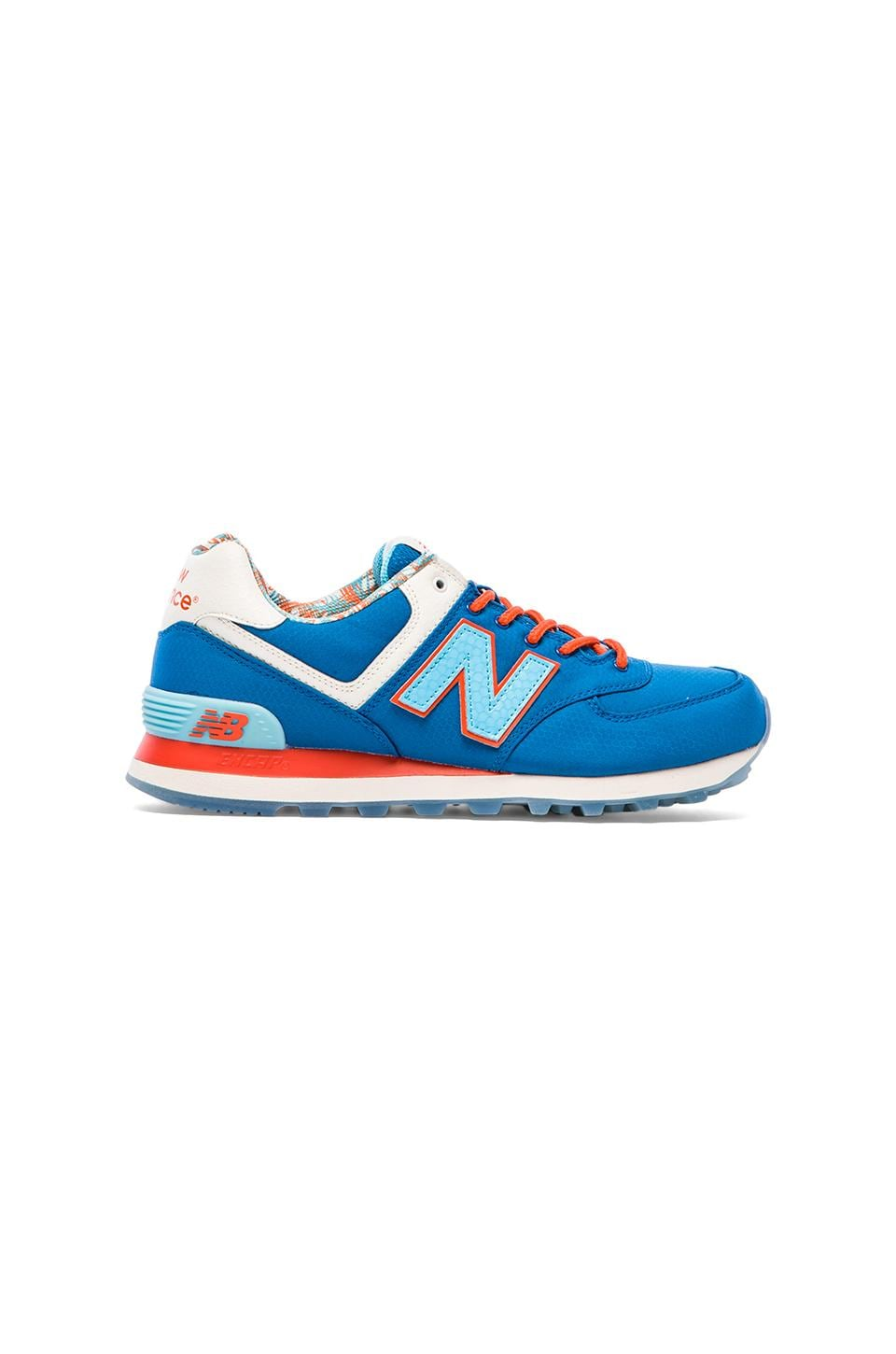 New Balance Island Pack ML574 in Blue