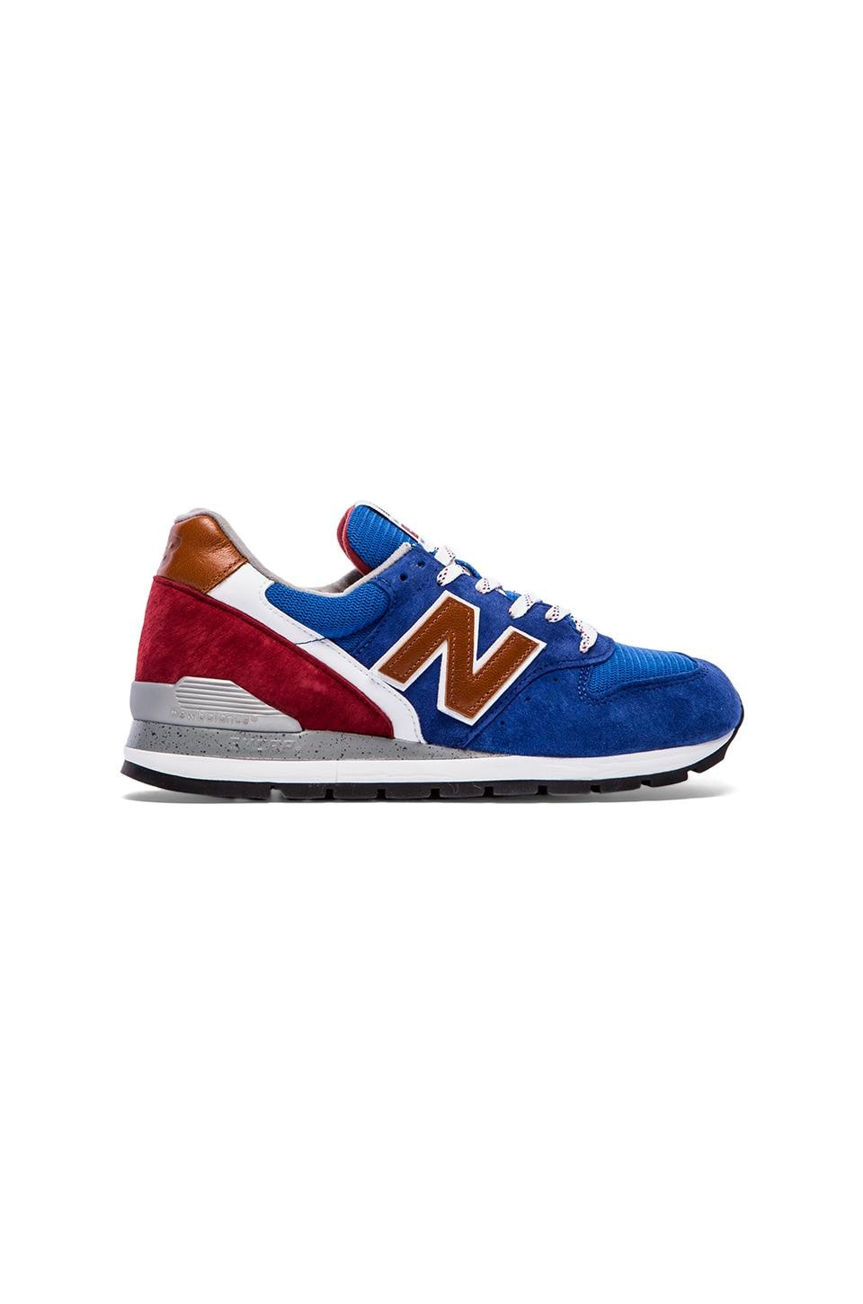 New Balance Made in USA M996 in Blue & Red