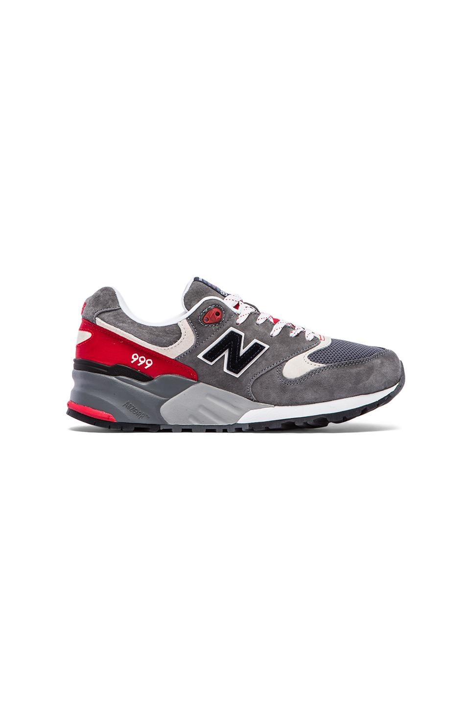 New Balance Elite Edition ML999 in Red &  Grey