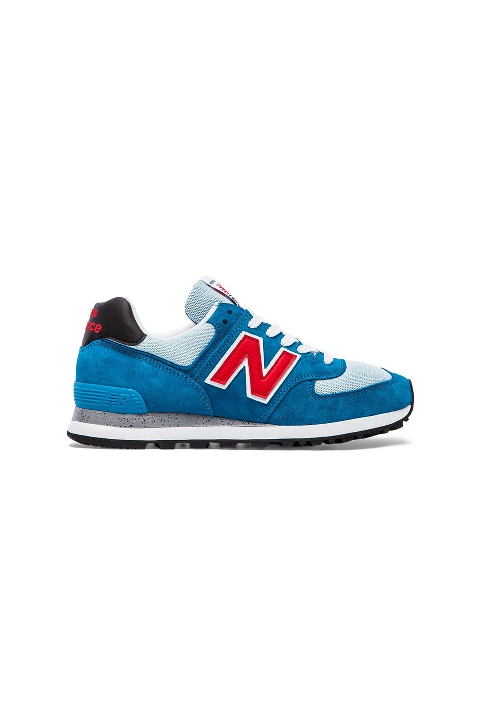 New Balance Made in USA US574 in Blue Infinity