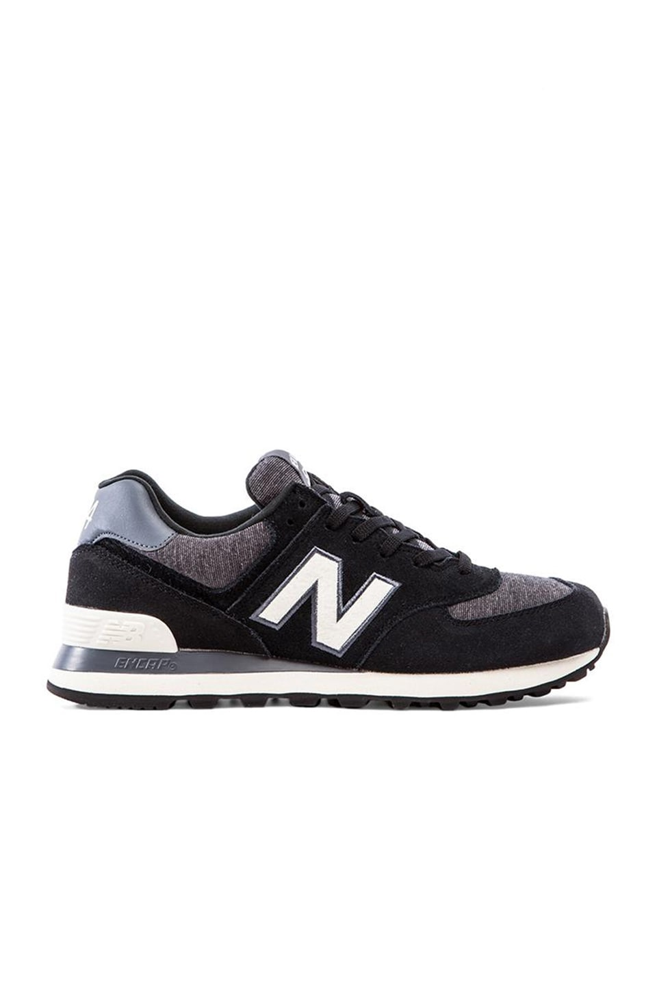 New Balance ML574 in Black/White
