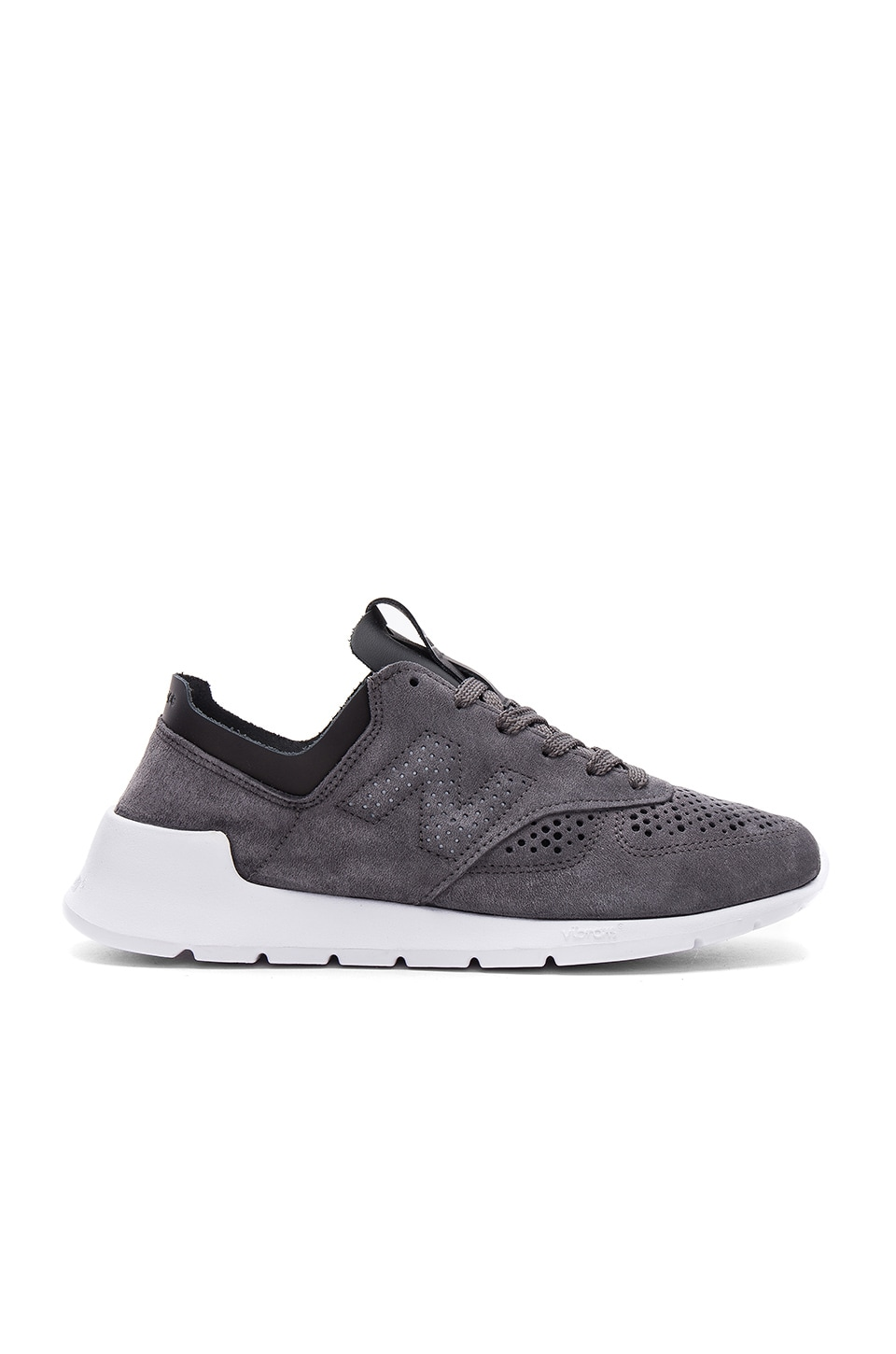 ff412140 New Balance Made in the USA 1978 in Black & Grey | REVOLVE