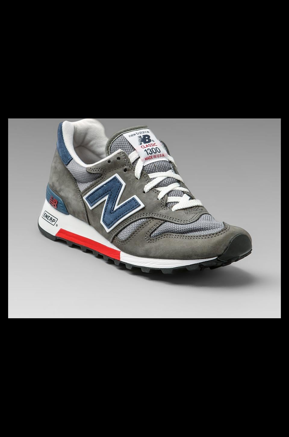 New Balance Classic Made in the USA M1300 in Grey/Navy/Red