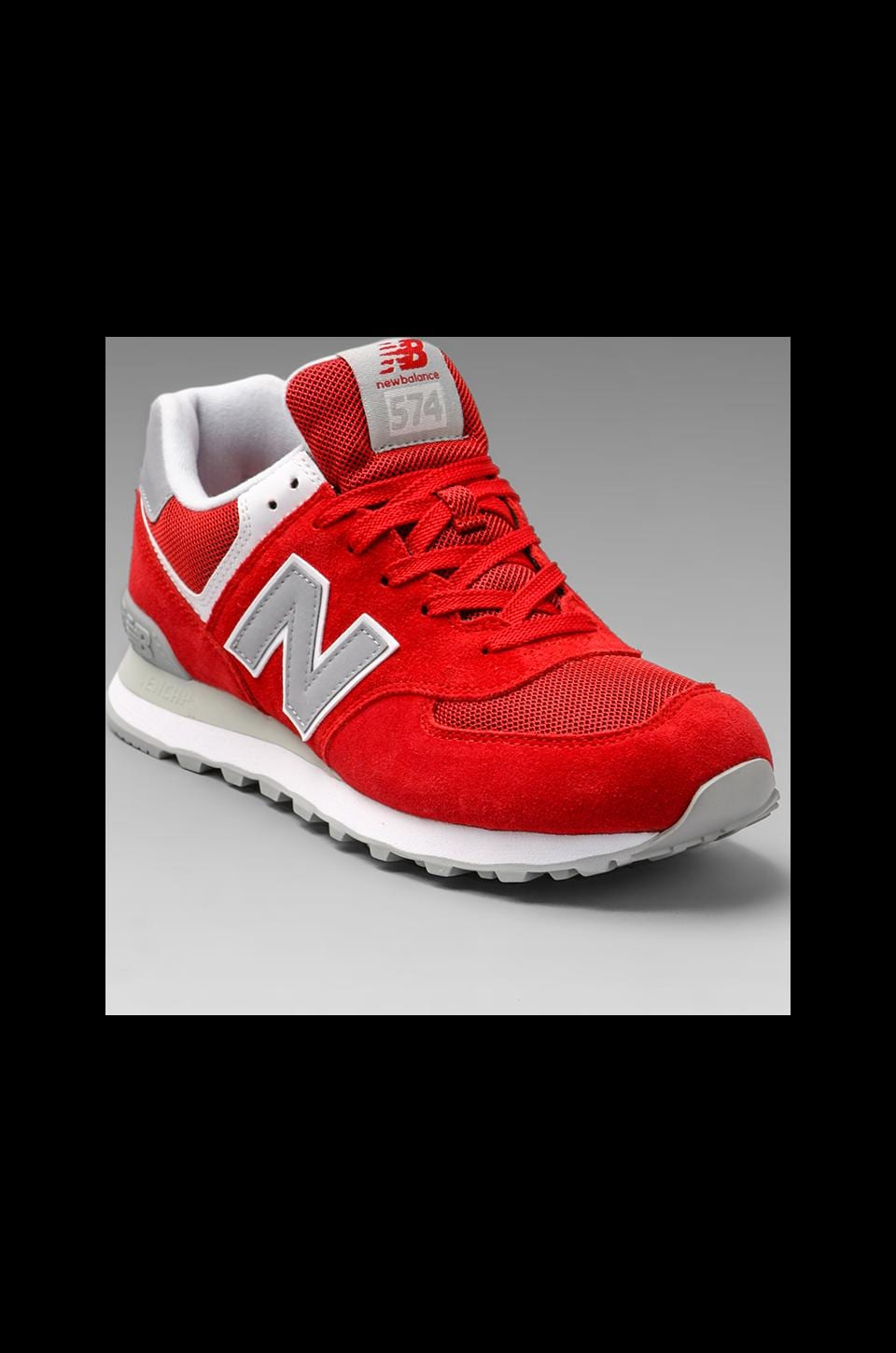 New Balance Classic ML574 in Red