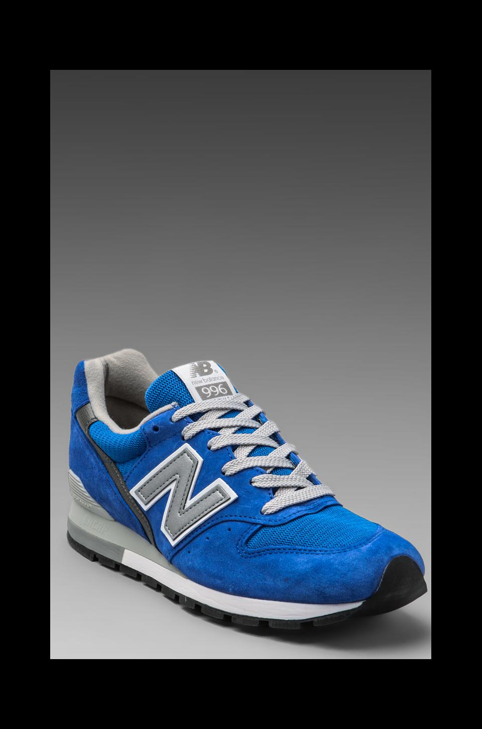 New Balance Made in the USA Classic M996 in Royal Blue