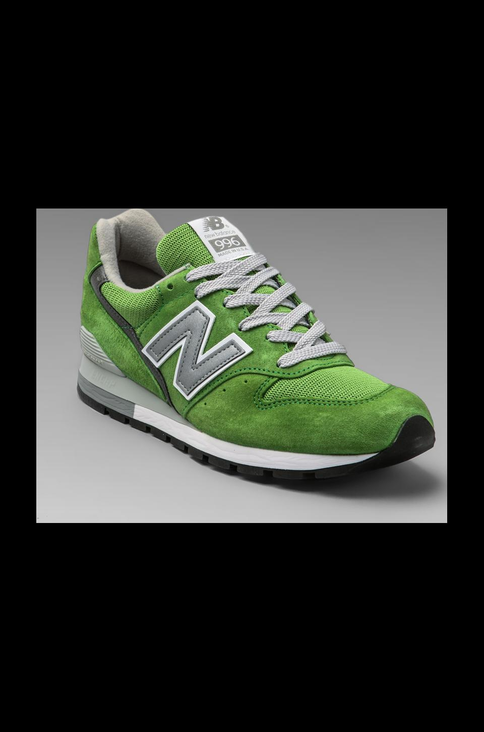 New Balance Made in the USA Classic M996 en Vert