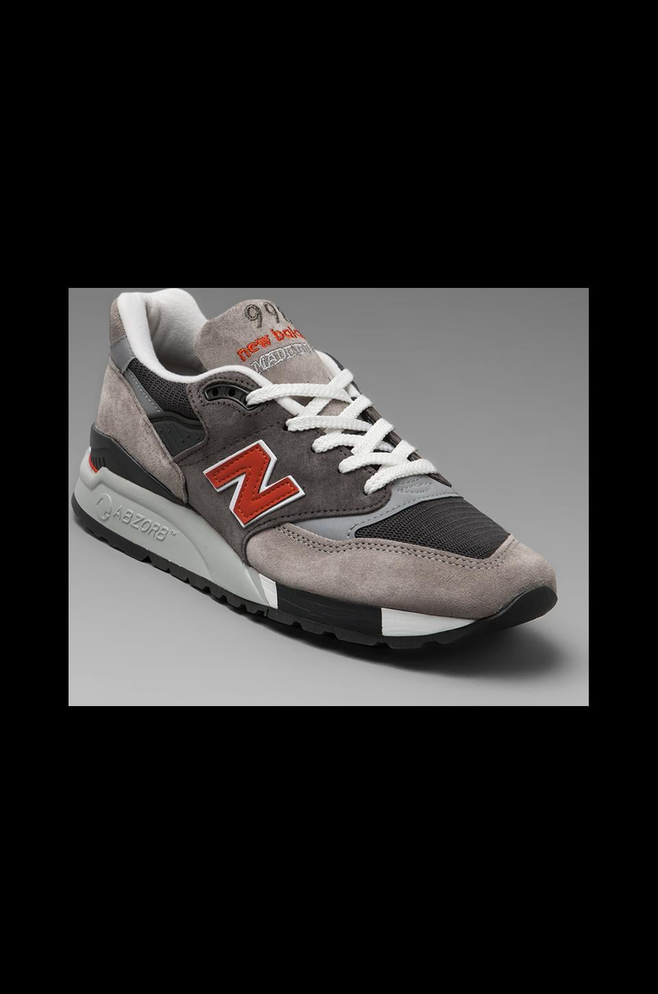 New Balance Made in the USA M998 in Grey