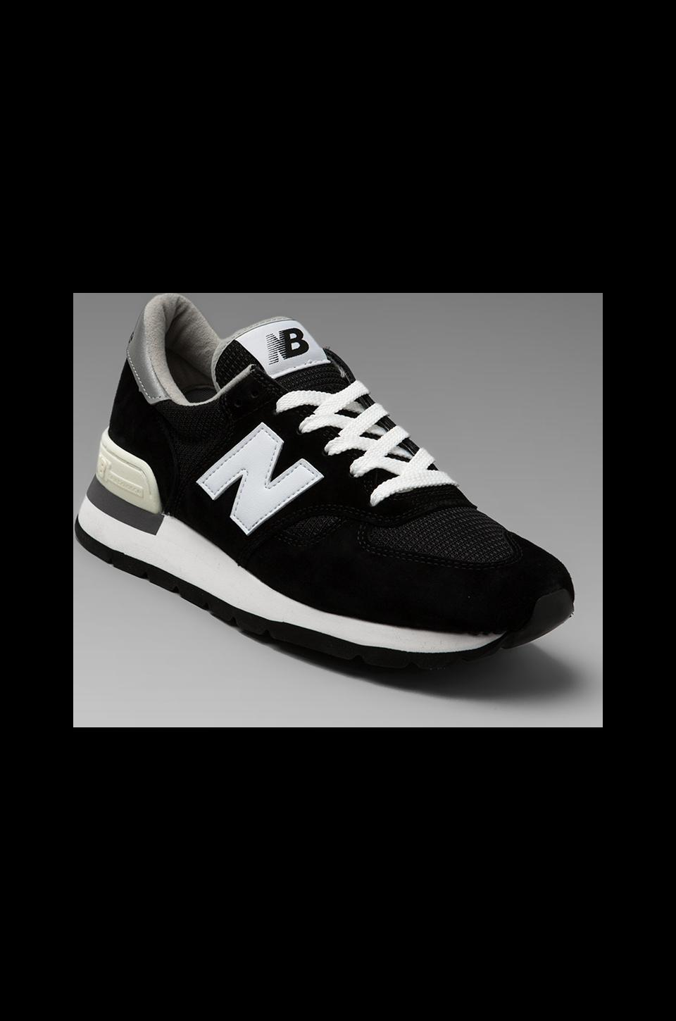 New Balance Made in the USA M990 in Black