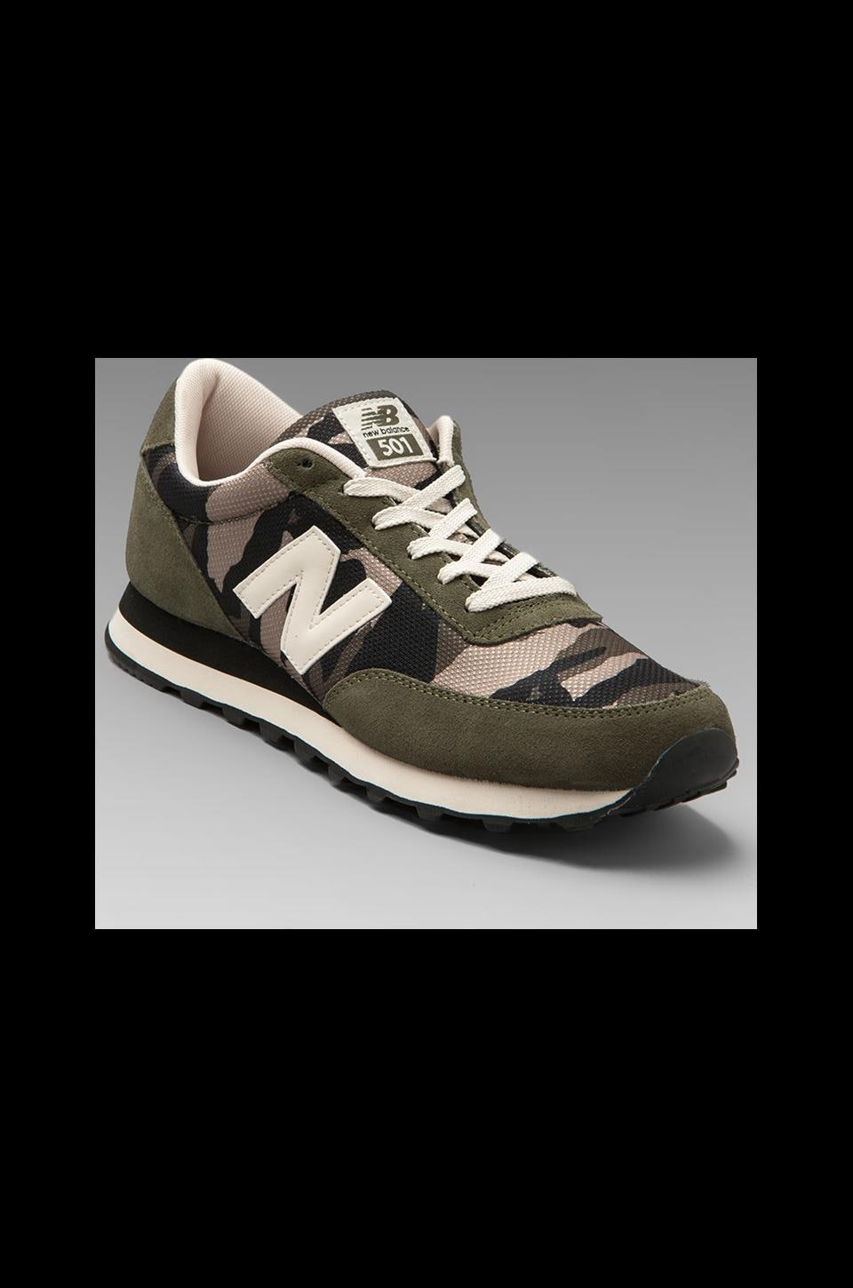 New Balance Camo ML501 in Green
