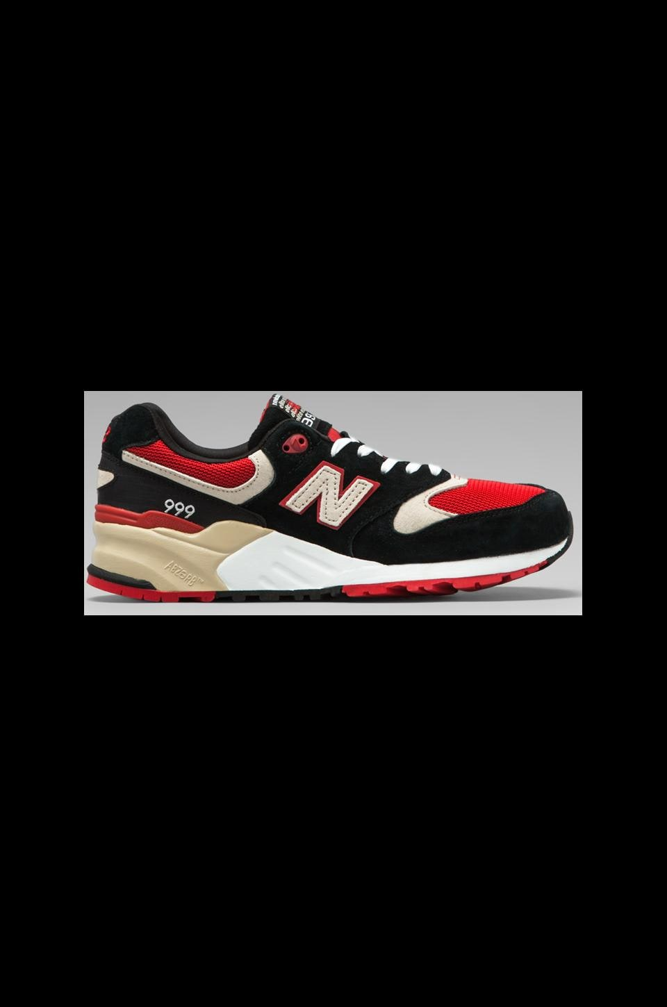 New Balance Elite Edition ML999 in Black/Red