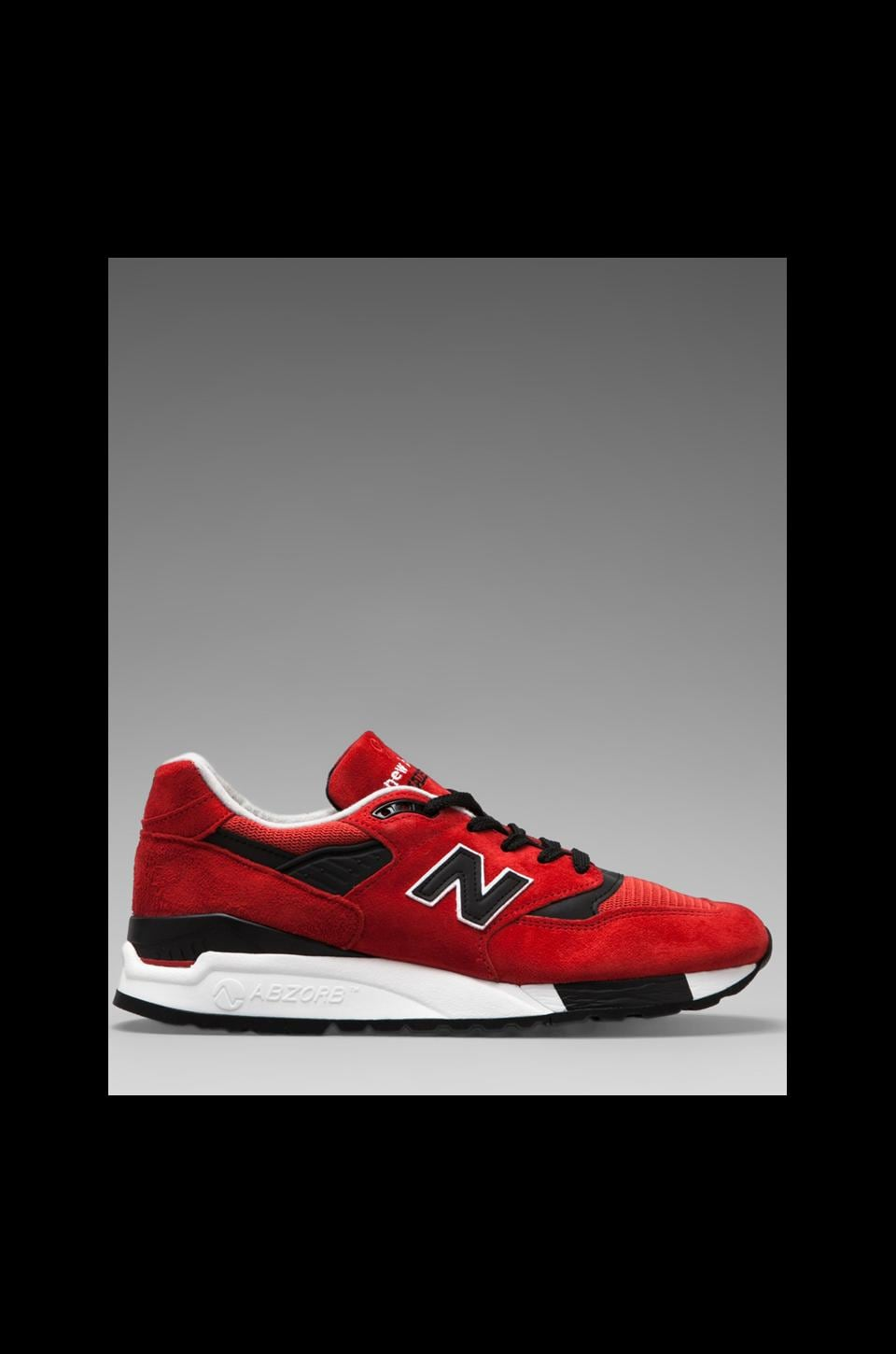 New Balance Made in USA M998 in Red
