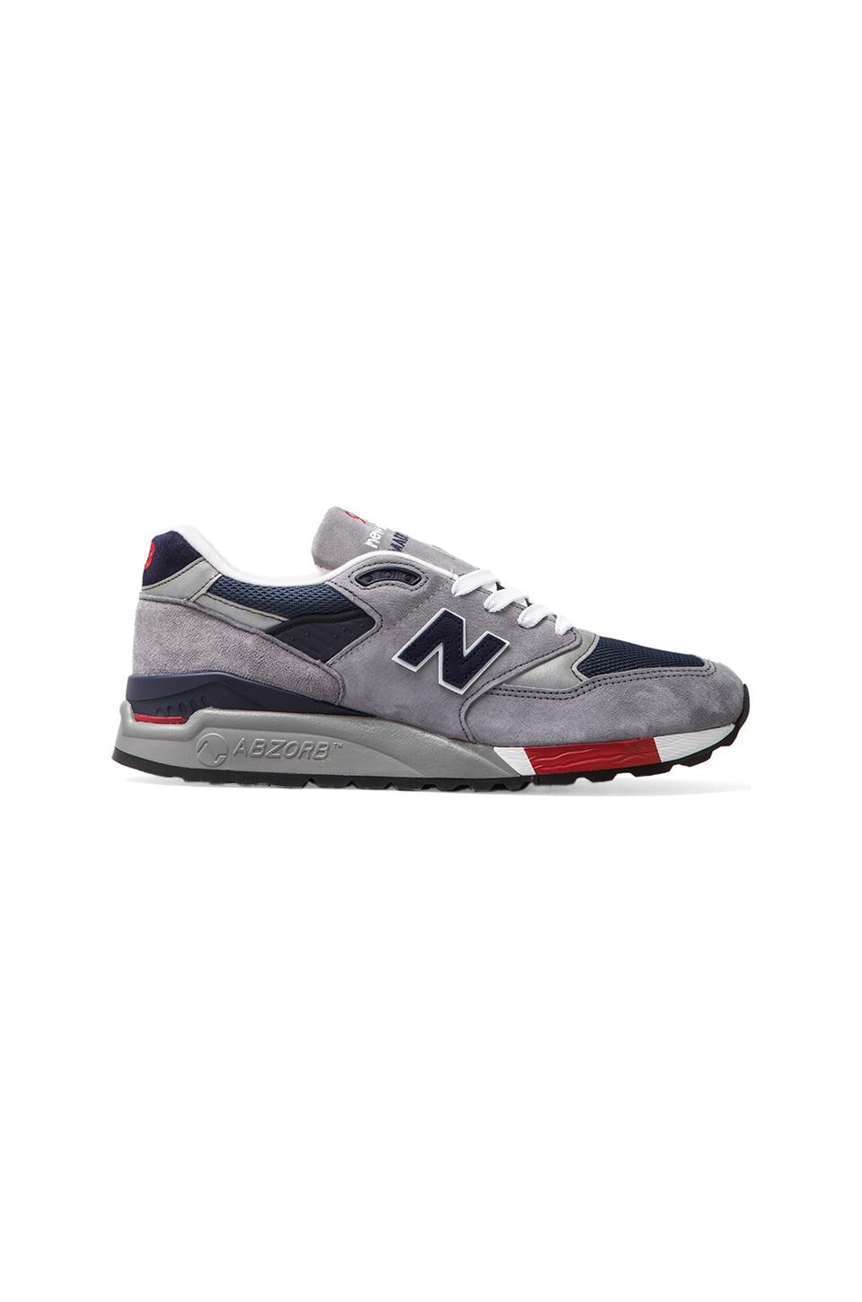 New Balance Made in USA M998 en Gris