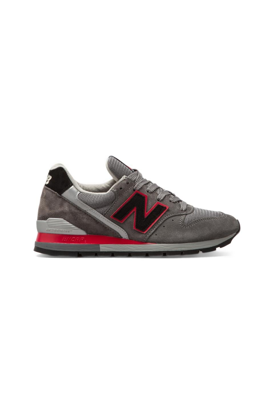New Balance Made in the USA M996 in Dark Grey