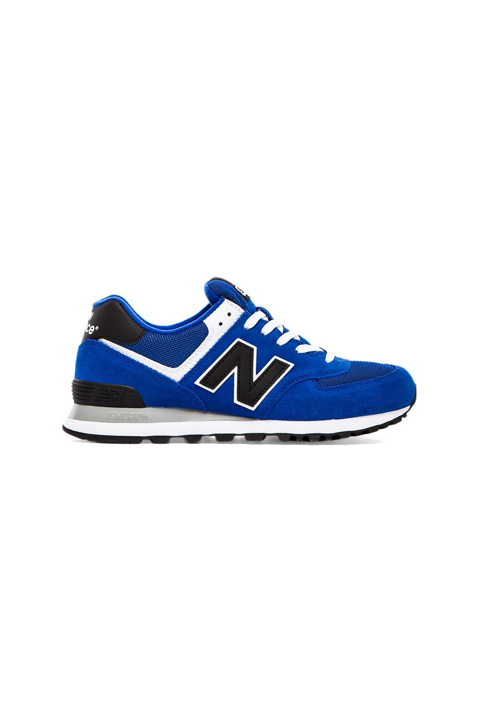 New Balance Varsity ML574 Suede in Blue