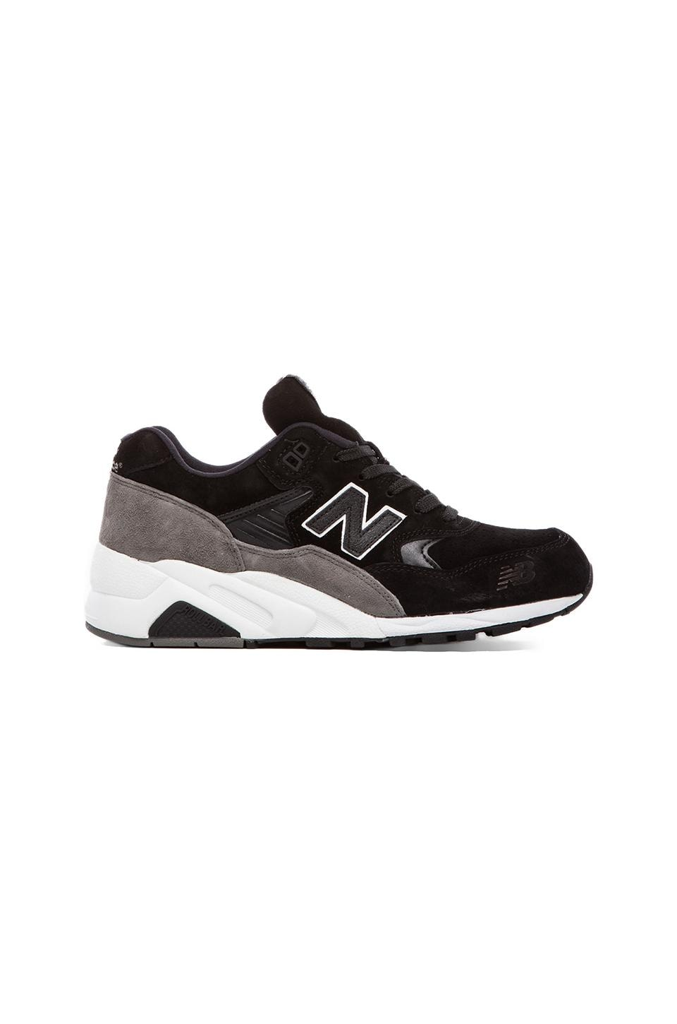 New Balance Made in the USA MT580 in Black & Grey
